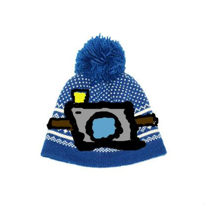 This is a hat with on it a camera so you can make videos and pictures without having any problem!